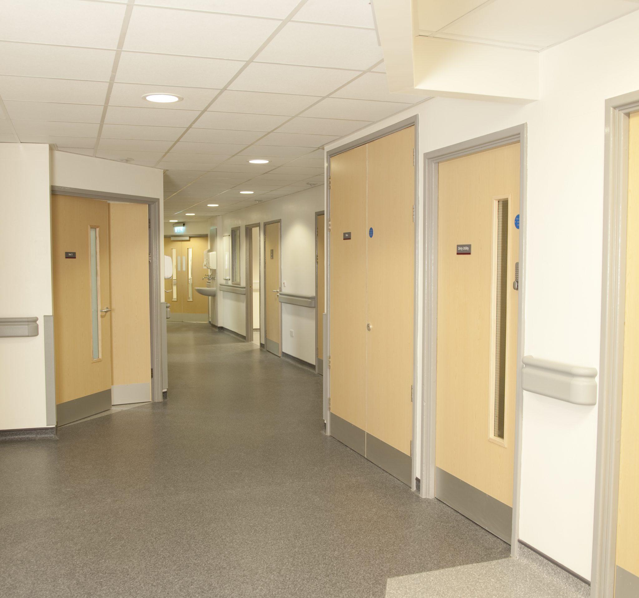 hospital fire doors