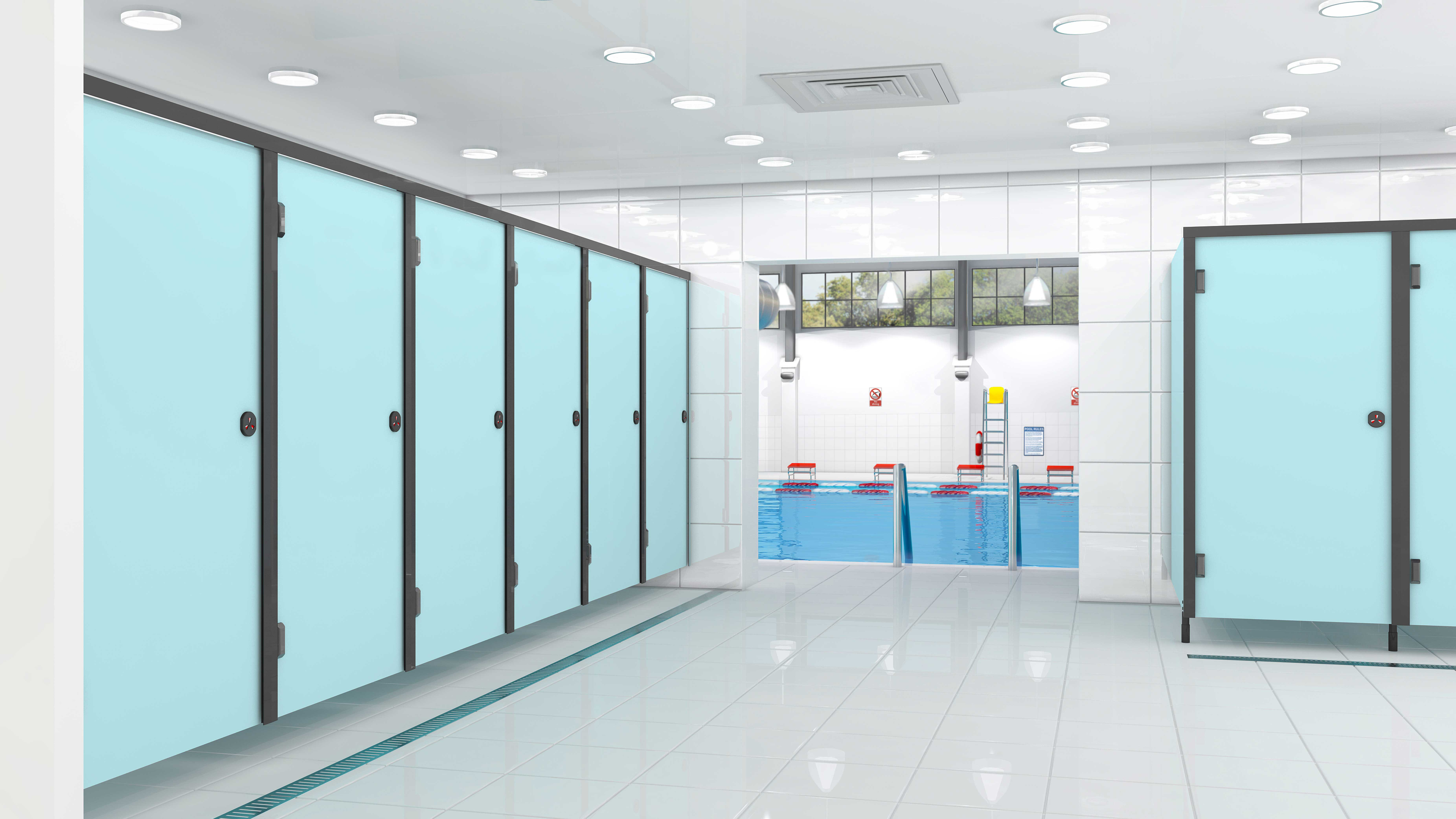 Cubico Washrooms Launches Leisure Cubicle Range Starbank Panel